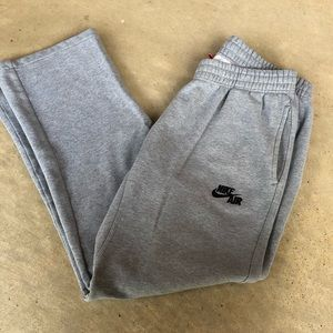 Nike Air Sweatpants Gray Men's Large